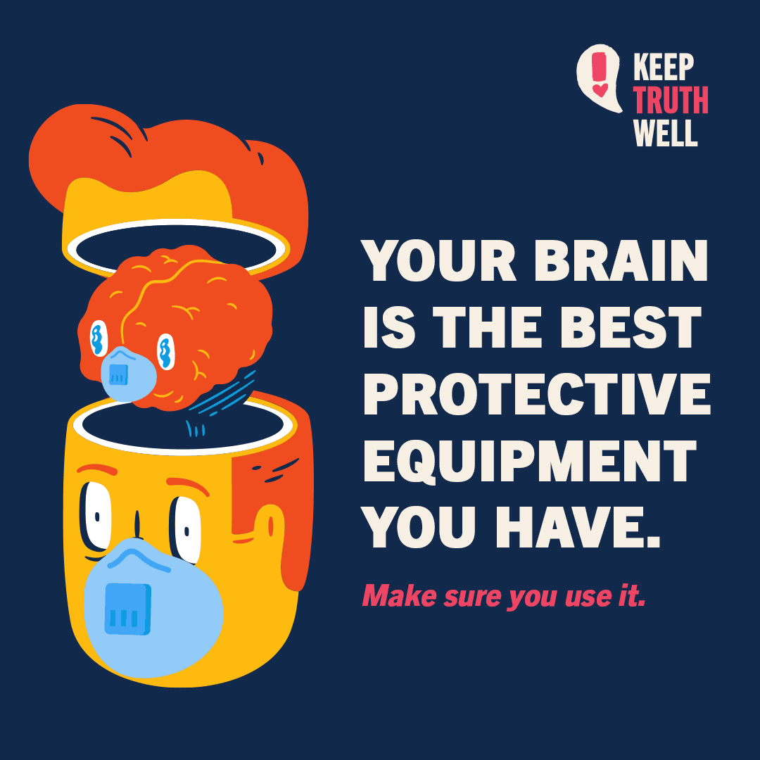 Your brain is the best protective equipment you have. Make sure you use it.